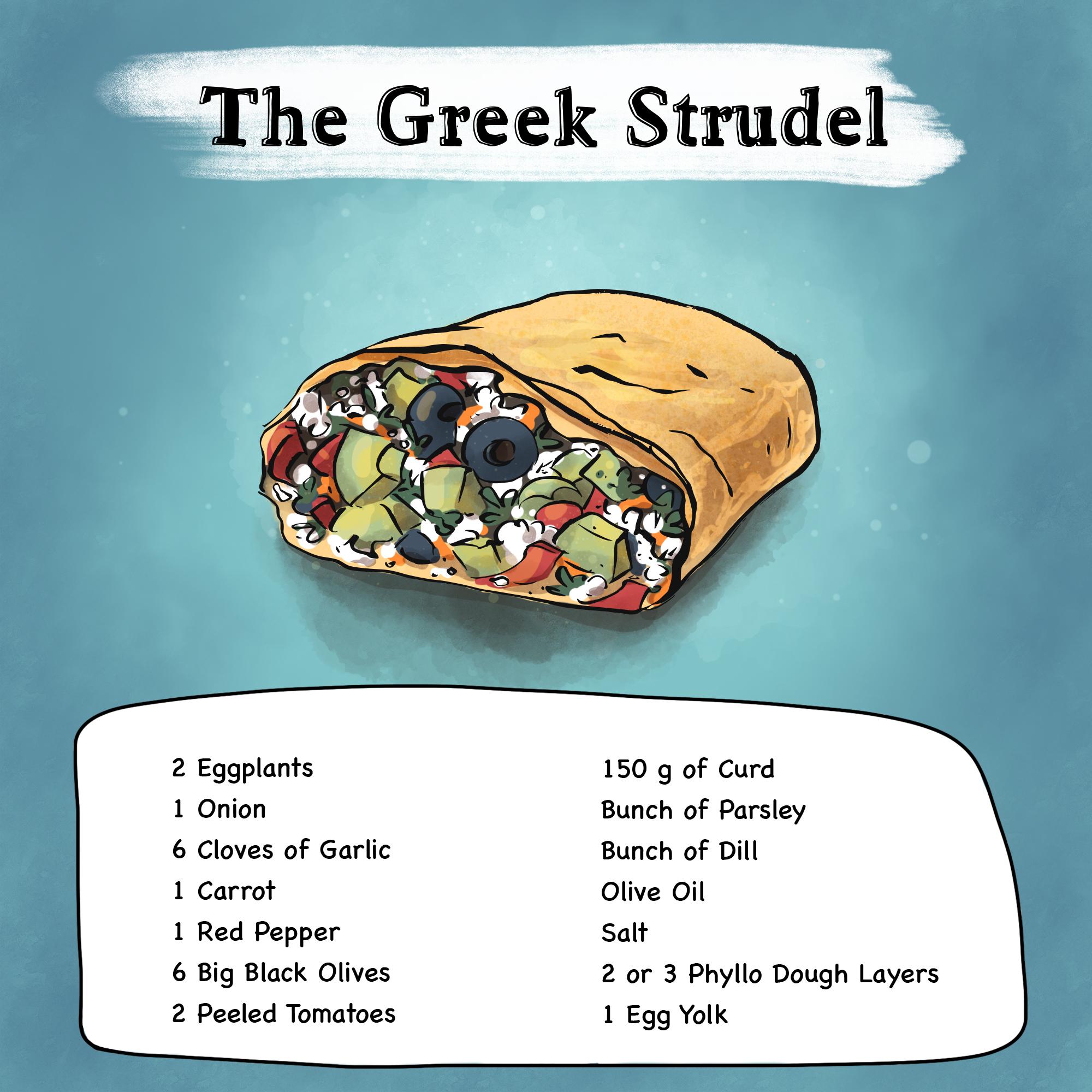The Greek Strudel