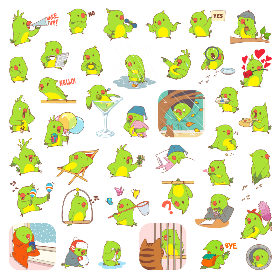 all-parrots