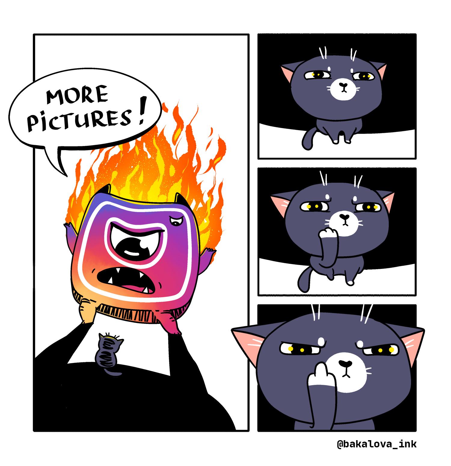 insta monster comic